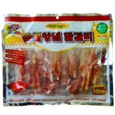 써니 숯불양념 칼슘닭갈비 미니 500g