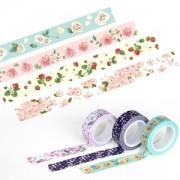 플로랄 마스킹 테이프 꽃무늬