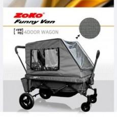 (신제품) ZOKO 조코 프리미엄급 유모차형 퍼니밴(funny van) 유아동 승용 트레일러&웨건(세미형)