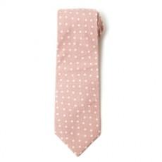 플라워 파스텔 핑크 넥타이