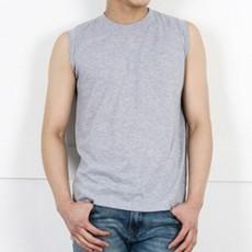 남자민소매나시면티셔츠