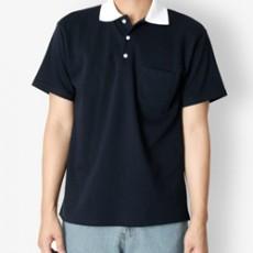 남자티셔츠 배색 포켓 카라티