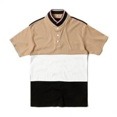 남자티셔츠 3컬러 배색 카라티