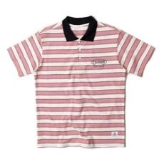 남녀공용 컬러 단가라 카라 티셔츠