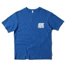 남녀공용 ADIC 프린팅 라운드넥 티셔츠