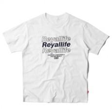 남녀공용 REYA 레터링 라운드넥 티셔츠