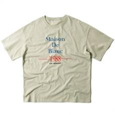 남녀공용 1988 레터링 반팔티셔츠