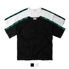 하이퍼 어깨 테잎 반팔티셔츠