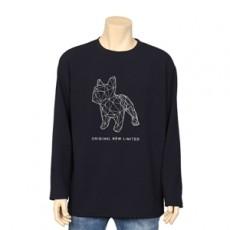 퍼피 긴팔 티셔츠