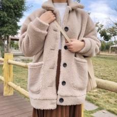 소호 카라 뽀글이 자켓