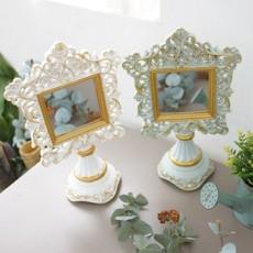 르네상스 탁상 거울 (화이트/스카이)