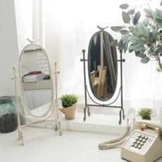 방패모양 벽걸이 겸용 탁상거울