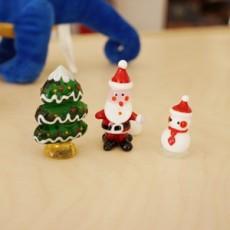크리스마스 3종 유리공예