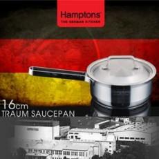 [독일 햄튼] 트라움 냄비 16cm(편수) TRAUM-16S