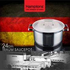[독일 햄튼] 트라움 냄비 24cm(양수) TRAUM-24P