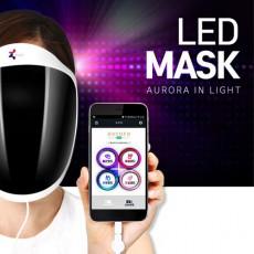 오로라 LED 마스크