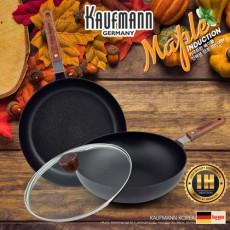 독일 카우프만 메이플 IH 단조 팬 3P 세트(G형) KMF-G3P