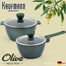 독일 카우프만 올리브 인덕션 냄비 2종 세트(A형) KOC-A4P