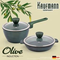 독일 카우프만 올리브 인덕션 냄비 2종 세트(B형) KOC-B4P