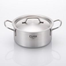 쿠앤 [CUAN] 헤닝 통3중냄비 20양수