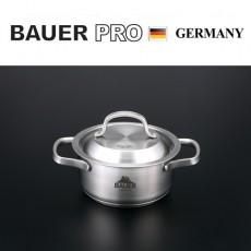 독일명품 바우어 프로 3중바닥 스텐냄비 14cm