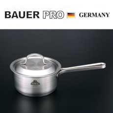 독일 명품 바우어 프로 3중바닥 스텐냄비 16cm편수