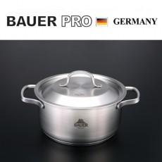 독일명품 바우어 프로3중바닥 스텐냄비20cm양수
