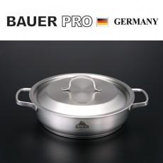 독일명품 바우어 프로 3중바닥 스텐냄비 24cm전골