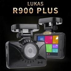 루카스 3.5인치 풀터치LCD 2채널(FHD+HD) 블랙박스 R900 Plus 32G