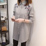 [빅사이즈]카라롱셔츠