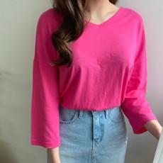 리버시블 루즈핏 티셔츠