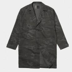 카모 오버핏 간절기 코트