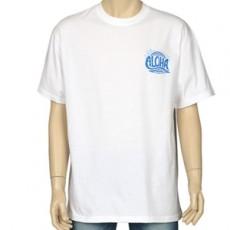 알로하 프린팅 반팔 티셔츠