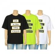 LIFE 컬러 반팔 티셔츠