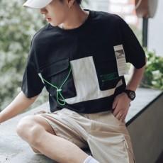 남성 일렉트릭 기본 티셔츠 TP61160