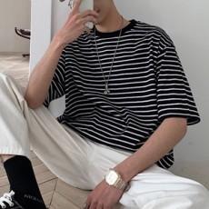 남성 스트라이프 티셔츠 TP80844