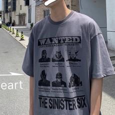 남성 WANTED 티셔츠 TP05457