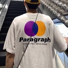 남성 오버핏 프린팅 티셔츠 TP99242