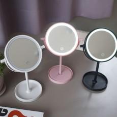 LED 조명 탁상거울 (3color)