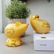 황금 재물 복 쥐 저금통 (황금 복 쥐/황금 재물 쥐)