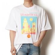 LA 티셔츠